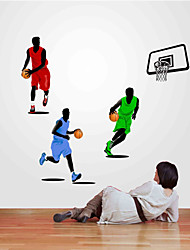 Wall Stickers Wall Decals Style Sports Basketball NBA PVC Wall Stickers