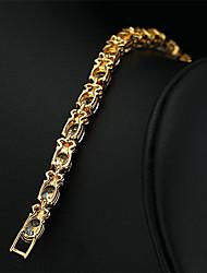2015 New Brand JewelOra Fashion Women White Ruby CZ Charms Classic Tennis Bracelets