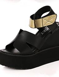 Women's Shoes Wedge Heel Wedges Sandals Outdoor Black