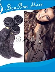cabelo humano peruano tecer 1pcs onda soltas