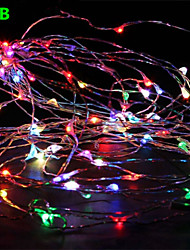 Dc12v 33FT 100 Leds Fairy String Lights Christmas Wedding Party Xmas Decoration RGB