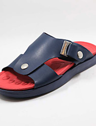 Men's Shoes Casual Sandals Blue/Brown/White
