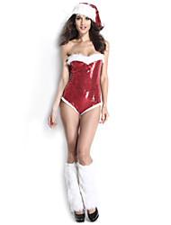 - Santa Anzüge - für Frau - N/A - mit Gymnastikanzug/Hut