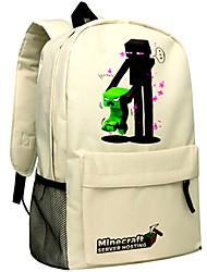 Minecraft backpack Enderman day pack New School bag Nylon rucksack Game daypack 044