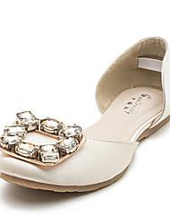 Women's Shoes Flat Heel Comfort Flats Outdoor Black/White