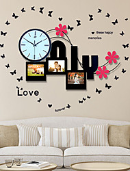 Contemporary Style Mute Iron Wall Clock