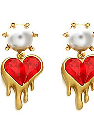 """New Arrival Hot Selling High Quality Fashional Heart Tassel Earrings"""