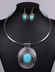 Jewelry-Necklaces / Earrings(Alloy)Wedding / Party / Casual Wedding Gifts
