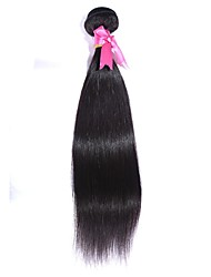 "Brazilian Virgin Hair 100% Brazilian  Remy Hair Straight 8""-30""Human Hair Extensions Natural Color"