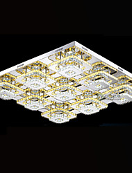 Tiffany LED Ceiling Lights Pendant Light Chandelier Lamps Lighting Fixtures with Clear or Amber K9 Crystal CE UL