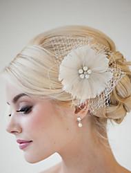 Hand Made Wedding Feather Hair Clip Fascinator Headpieces Fascinators 038