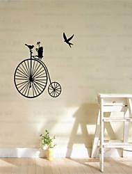 estilo natural de pegatinas de pared decorativos en casa