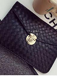 Ms Bag Imitation Weave A Large Mobile Phone Bag Change Purse Single Shoulder Bag