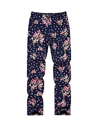 Jijile kids girls fall 2015 new girls Leggings rose jacquard fashion models