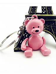 Teddy Bear Key Couple Bear Key Chain(Random Color)