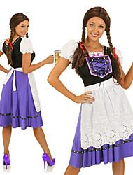 Blue Oktoberfest Maid Dress Halloween Costumes For Women