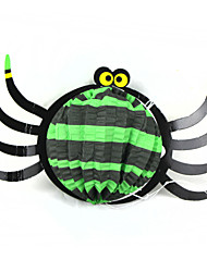 Cute Funny Squabby Paper Spider Hanging Ornament for Halloween