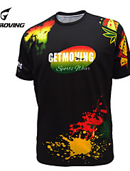 Getmoving Unisex Short Sleeve Spring/Summer/Autumn Cycling Tops/Jerseys Breathable
