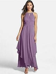 Women's Dresses ,  Maxi Dresses Beach / Casual Round Sleeveless MaNi