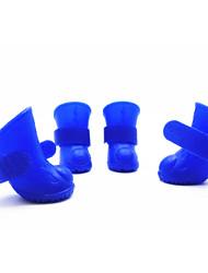 Gatos / Cães Sapatos e Botas Prova-de-Água Verde / Azul Primavera/Outono Mistura de MaterialCão Sapatos