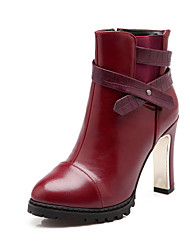 Women's Shoes Stiletto Heel Round Toe Ankle Boots Dress More Colors available