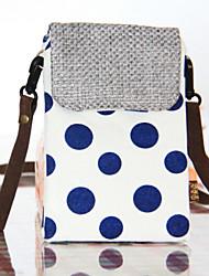 mulheres 's saco de estilingue lona bolsa de ombro - rosa / azul / verde / vermelho