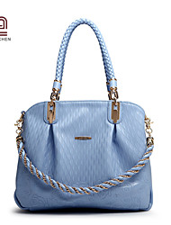 Handcee® Fashion Woman PU Good Quality Simple Lady Handbag