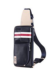 bolsos de la cintura bolsillos de cuero genuino para los hombres maletines de diseño de los hombres de negocios de la mochila de mensajero