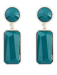 GK Hot Selling Fashion Geometric Gem Earrings