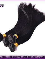 "4Pcs/Lot 8""-28"" Brazilian Virgin Hair Natural Straight Hair 100% Unprocessed Human Hair Weaving Queen Hair Products"