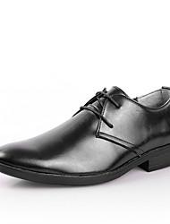 Oxfords ( Cuero , Negro/Marrón Zapatos de hombre