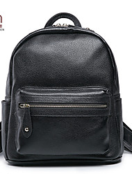 Handcee® Hot Selling Woman Real Leather Fashion Simple Style Backpack