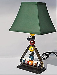 Desk Lamps Green 220V Resin Billiards European Retro Classic