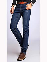 Men's Vintage/Beach/Casual/Work Jeans ailanting (Cotton)
