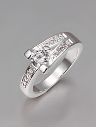 Hot Selling Italy S925 Silver Plated Ring Wholesale Price Fashion Jewelry Ring High Quality