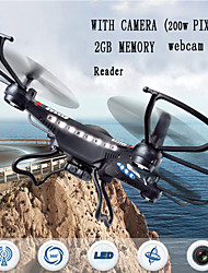 JJRC H8C-3 Quadrocopter 6-Axis Gyro Radio Drones 2.4GHz 30W Pixel Camera Version of The RC Remote Control Helicopter