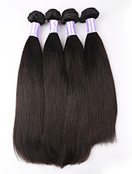 "3pcs/lot 8""-34"" Peruvian Virgin Hair Weaves Unprocessed Peruvian Straight Hair Human Hair Weave"