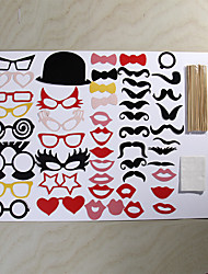 50 Sets Of Interesting Birthday Party Welcome  Wedding Pictures Props Lips