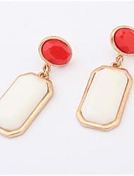 Elegant squares professional earrings