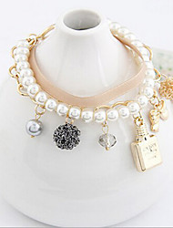 Nuoqi Fashional Popular Multilayer Pearl Bracelet