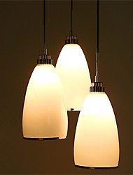 YL Chandeliers/Pendant Lights/Ceiling 3 LED Bulb With Frosted Glass Shade Minimalist Style