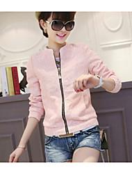 Women's Blue/Pink/Yellow Jackets , Cute Long Sleeve