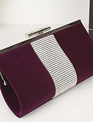 Women 's Other Leather Type Minaudiere Clutch/Evening Bag - Purple/Blue/Black