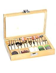 """Caja de herramientas 100 piezas de rotación de una variedad de 1/8 """"accesorios bits para conjunto dremel para dremel"""