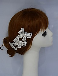 Women's Rhinestone/Alloy Headpiece - Wedding Headbands/Hair Combs 1 Piece