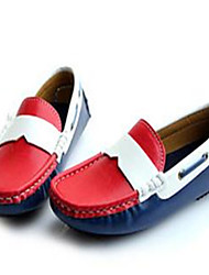 Baby Shoes Casual Faux Leather Fashion Sneakers Blue/Red