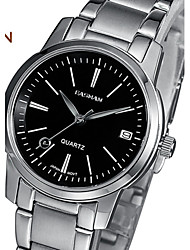 EASMAN® Brand Wristwatch Women Watch Fashion Calendar Ladies Watch 2015 New Black Woman Quartz Watch For Womens Cool Watches Unique Watches