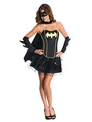 Batman Female Black Halloween Cosplay Costumes