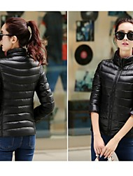 Women's Fashional Polyester Reversible  Down Jacket