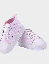 Zapatos de bebé - Sneakers a la Moda - Casual - Tela - Rosa